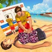 海滩救生员救援队
