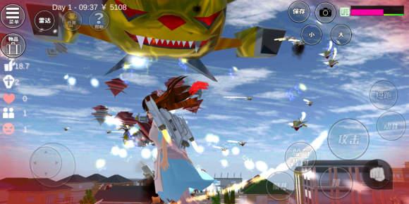樱花校园模拟器超人版