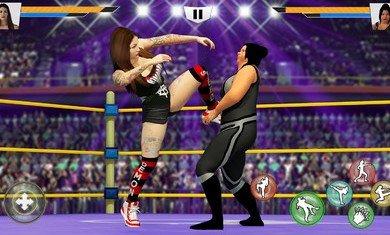 美女摔跤模拟器图1