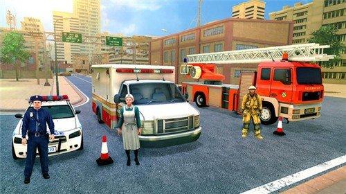 紧急消防救援模拟器破解版图4
