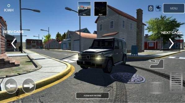 漂移停车模拟