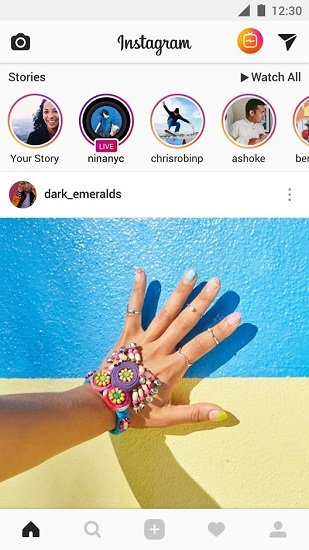 instagram华为版3