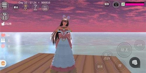 樱花校园模拟器2021(新服装)中文版3